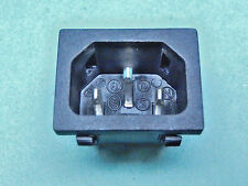 5x POWER INLET SNAP-IN IEC320 C14 AC Power Inlet SS120  Rong Feng