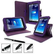 rooCASE Dual-View Synthetic Leather Folio Case for ASUS MeMO Pad HD 7 w/Stylus P