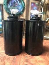 Tiki Torch Replacement Canisters for Smokin' Tikis Wooden Heads Set Of 2