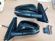 TOYOTA HighLander LED auto-folding signal side mirror pair/2014~2017