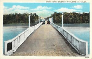 Bridge Across Calcasieu River, Lake Charles, La.