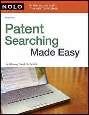Patent Searching Made Easy: How to Do Patent Searches on the Internet & in the