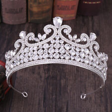 7cm High 6 Colors Crystal Wedding Bridal Party Pageant Prom Tiara Crown