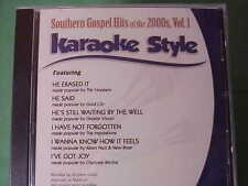 Southern Gospel Hits of the 2000's #1 ~ Christian ~Daywind ~Karaoke Style ~ CD+G