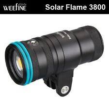 Weefine Solar Flare 3800 Video Light Underwater lighting photography WF036