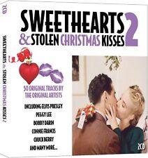 Sweethearts & Stolen Christmas Kisses 2 CD 50 original recordings Elvis +more