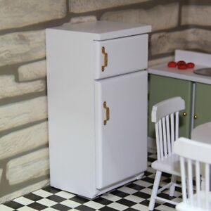 Children Toys Miniature Kitchen Furniture Fridge Refrigerator For 1:12 Dollhouse