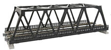 Kato N Scale UniTrack Train Track Double Truss Bridge 9-3/4in Black