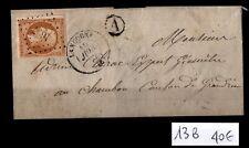 NAPOLEON 13B sur Lettre de Langogne = Cote 40 € / Lot Classique France
