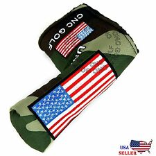 USA Jungle Military Putter Cover Headcover For Scotty Cameron Taylormade Odyssey