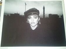 Madonna in London First Time 1983 Single Page Picture from Music Book 23x18cm