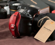 Herringbone Heritage Hand Strap Grip for DSLR Camera Red Type1