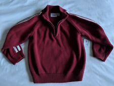 Boy's Sonoma Life + Style Burgundy Long Sleeve 1/4 Zip Sweater Size 4T