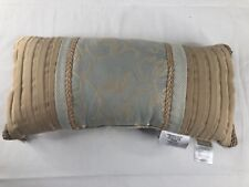 "NWT Croscill Lorraine 22"" x 11"" Boudoir Decorative Pillow"