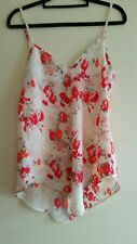 Gorgeous Ladies Pink Floral Cami By Jeanswest S:8