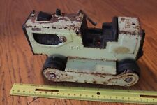Tonka Pressed Steel Bull Dozer loader Vintage green T-6 PARTS