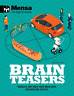 Mensa: Brain Teasers, Very Good Condition Book, Graham Jones,Mensa, ISBN 1780979