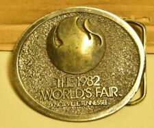 The 1982 World's Fair Knoxville, Tennessee Belt Buckle