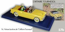 Voiture bordure L'affaire Tournesol En voiture Tintin #16 Atlas