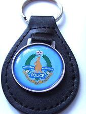 Northern Territorium Polizei Leder Schlüsselanhänger Geschenk
