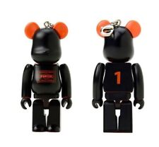 Medicom 2014 Be@rbrick Porter 100% Black Stand Bearbrick 1pc