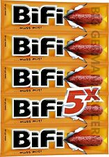 BiFi - 5 x Mini Snack Salami - 5 x 25 g - German Production