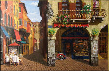 "Viktor Shvaiko ""Colors of Italy"" Hand Signed on Canvas Make an Offer"