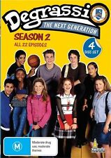 Degrassi - The Next Generation : Season 2 (DVD, 2010, 4-Disc Set)