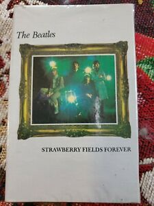 SEALED The Beatles Cassette Single Strawberry Fields / Penny Lane Capitol Apple