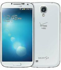 Samsung Galaxy S4 SCH-I545 - 16GB - White (Verizon) Extra battery Plus Cover