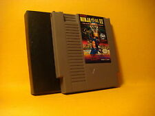 Nintendo NES NINJA II The Dark Sword of Chaos 1990