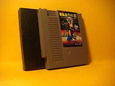 Nintendo NES NINJA II The Dark Sword of Chaos 1990