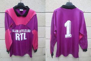 Maillot PARIS SAINT-GERMAIN PSG goal shirt n°1 RTL ancien 1991 trikot BATS L