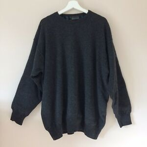 Glenmuir Golf Jumper XXL 2XL Wind Bloc Pure New Wool Fully Tartan Lined Sweater