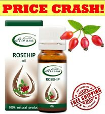 100 Natural Product Rivana Rosehip Oil 10ml Essential Oils Aromatherapy VIT a C