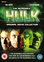 Nuovo The Incredibile Hulk - Originale Film Collection DVD