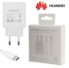 HUAWEI CARICABATTERIE SUPERCHARGE AP81 + CAVO TYPE-C 5A MATE P8 P9 P10 ORIGINALE