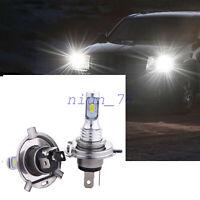 2x H4 HS1 LED Motorrad Scheinwerfer Birne Fernlicht/Abblendlicht 6500K Lampe