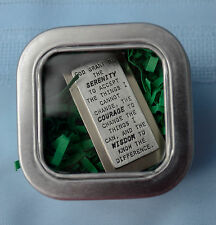 Made-in-the-USA Inspirational Money Clip Engraved w/ Serenity Prayer