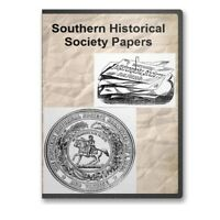 The Southern Historical Society Papers - 44 Volumes on DVD Civil War  -  C821