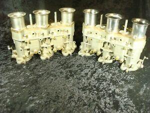 Porsche 911 914-6 Weber 40 IDT carburetors complete, made in Italy