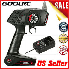 GoolRC TG3 2.4GHz 3CH Digital Radio Transmitter W/Receiver For RC Car Boat B4D8