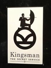 KINGSMAN `THE SECRET SERVICE` ,  STICKER  88mm x 57mm