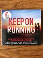 101 HITS KEEP ON RUNNING (2018) 101-tracks (CD) Brand New Sealed
