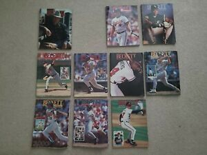 Beckett Baseball Card Monthly 1992 partial year Set.  Missing Feb. And Dec.