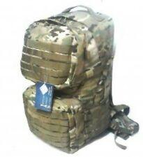 TAS Combat 45L Multicam Backpack 900D Doible PU Coated - UTX Buckles - SBS Zips