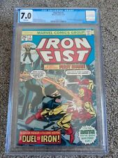 Iron Fist #1 CGC 7.0 (Nov 1975, Marvel)