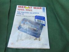 DEL PRADO No 31 MEN AT WAR 1914-1945 WW 2 PTE ITALIANS IN AFRICA