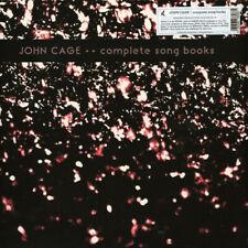 JOHN CAGE Complete Song Books 2xLP *SEALED* Ltd.500 stockhausen kagel feldman