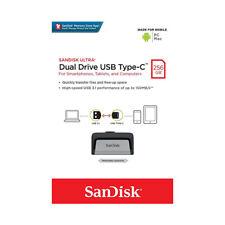 SanDisk SDDDC2256G USB Type-C 256GB Ultra Dual Drive - Silver